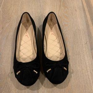 NWOB Faux Suede Ballet Flats sz. 6.5